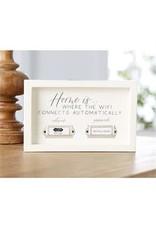 Home Wifi Plaque