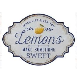 When Life Gives You Lemons - Metal Wall Decor