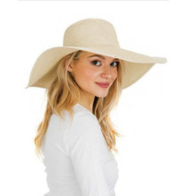 Wide Brim Floppy Sun Hat