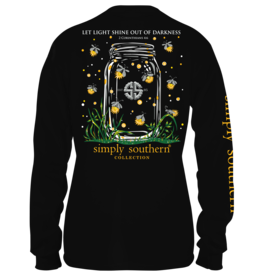 Simply Southern Shineout Black - Long Sleeve