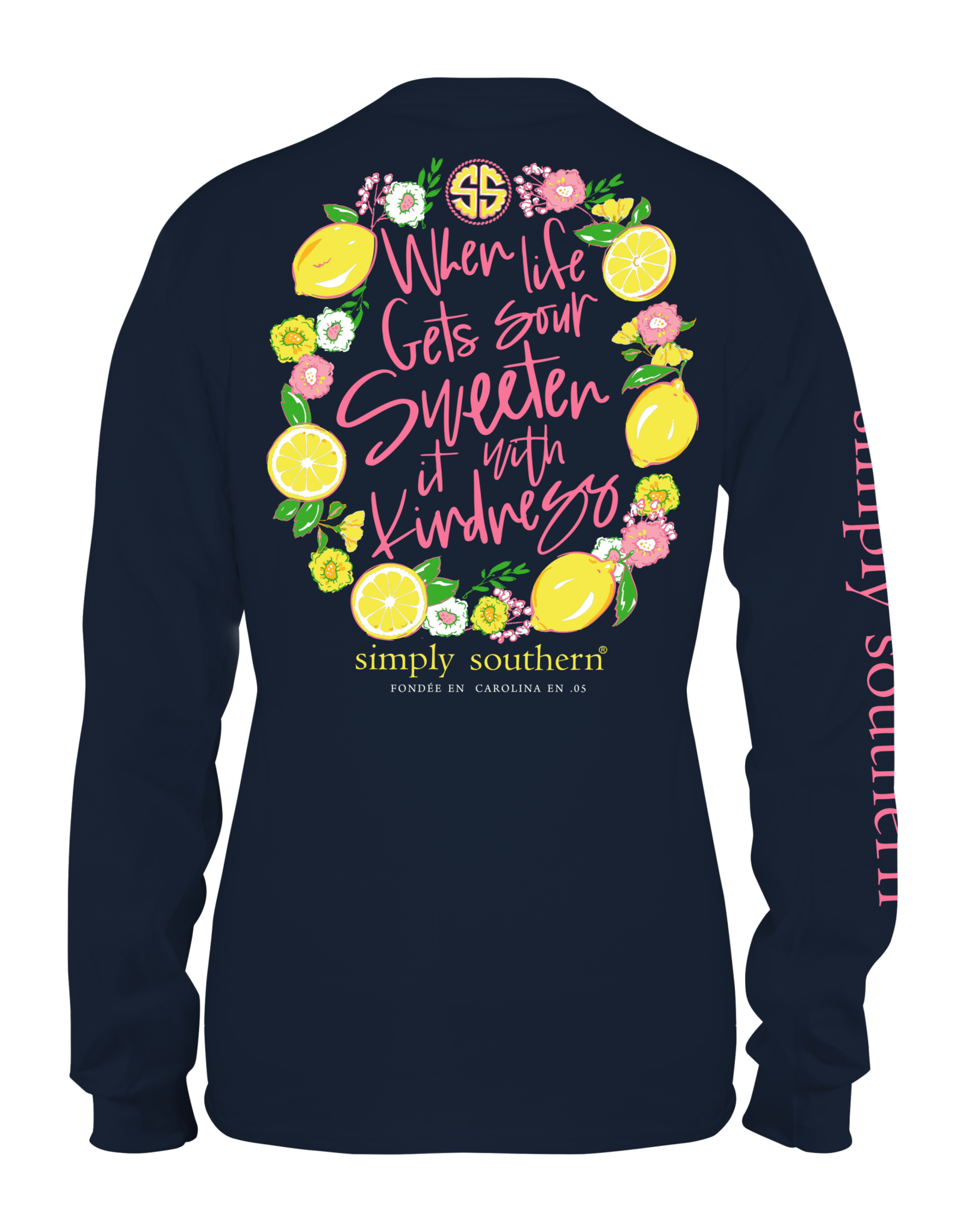 Simply Southern Sour Midnight - Long Sleeve