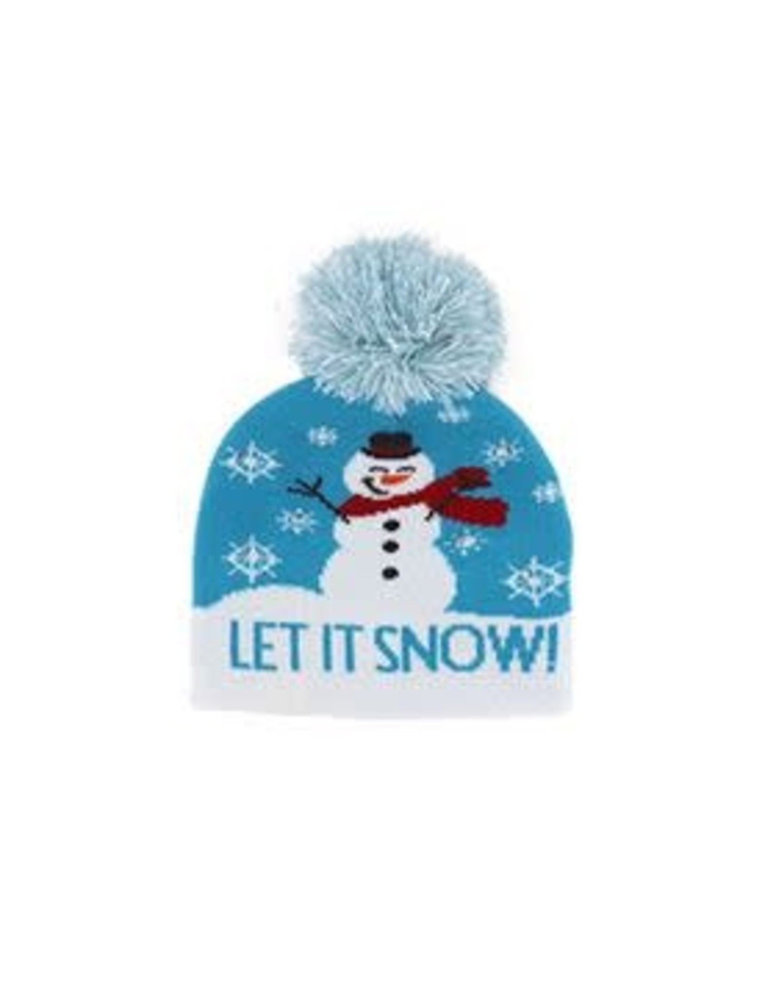 Kids Winter Light Up Hat - Snowflake