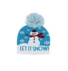 Kids Winter Light Up Hat - Snowflake