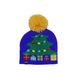 Kids Winter Light Up Hat - Tree