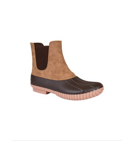 Simply Southern Slip On Boots - Tan