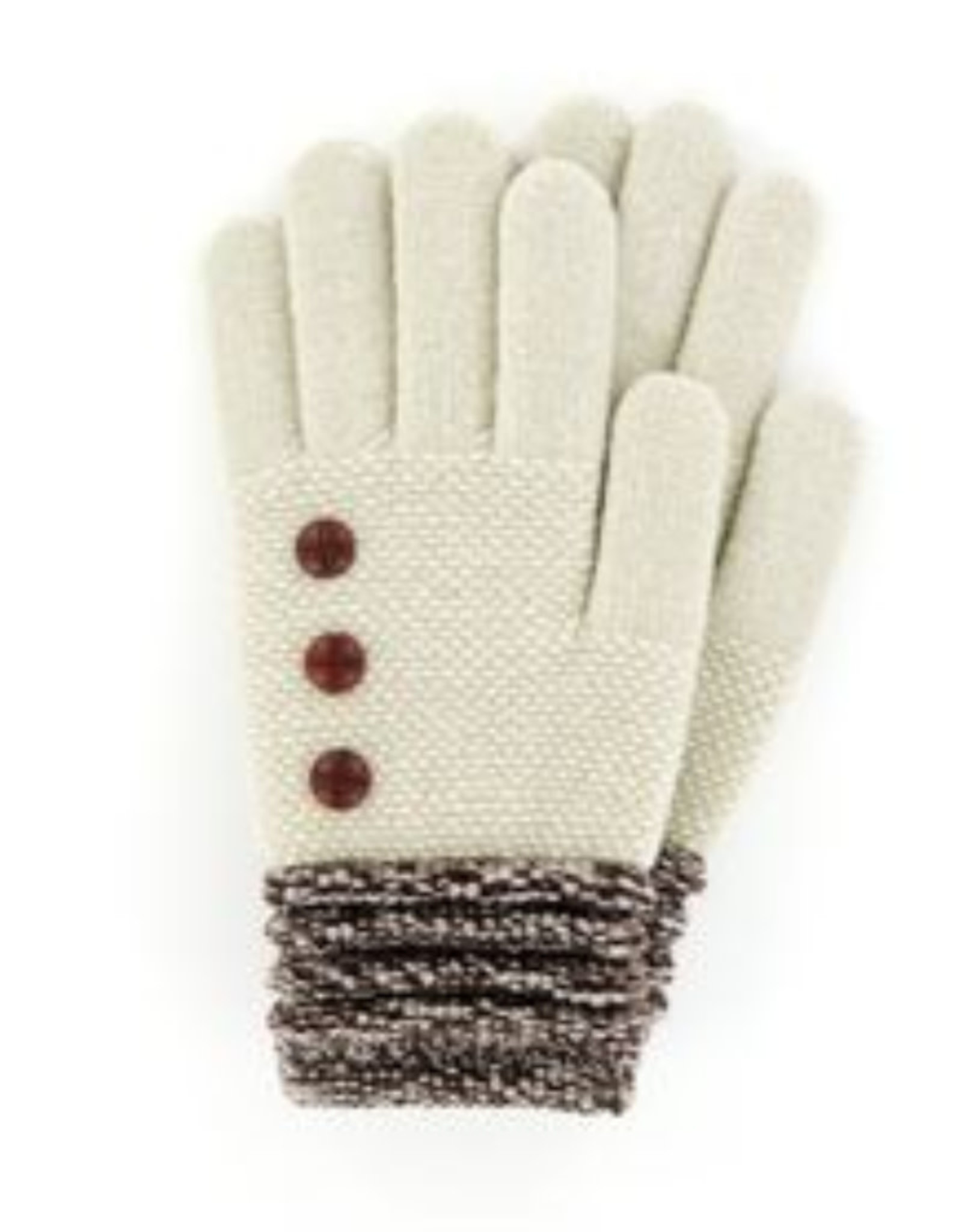 Soft Knit Gloves Oat