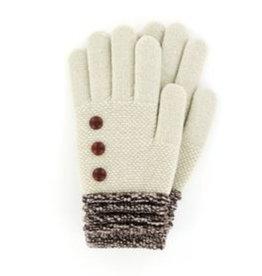 Soft Knit Gloves Oat