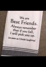 Best Friends Tea Towel