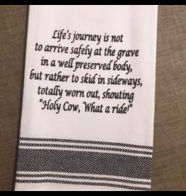 Holy Cow Tea Towel