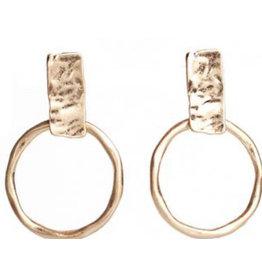 Yale Gold Earrings