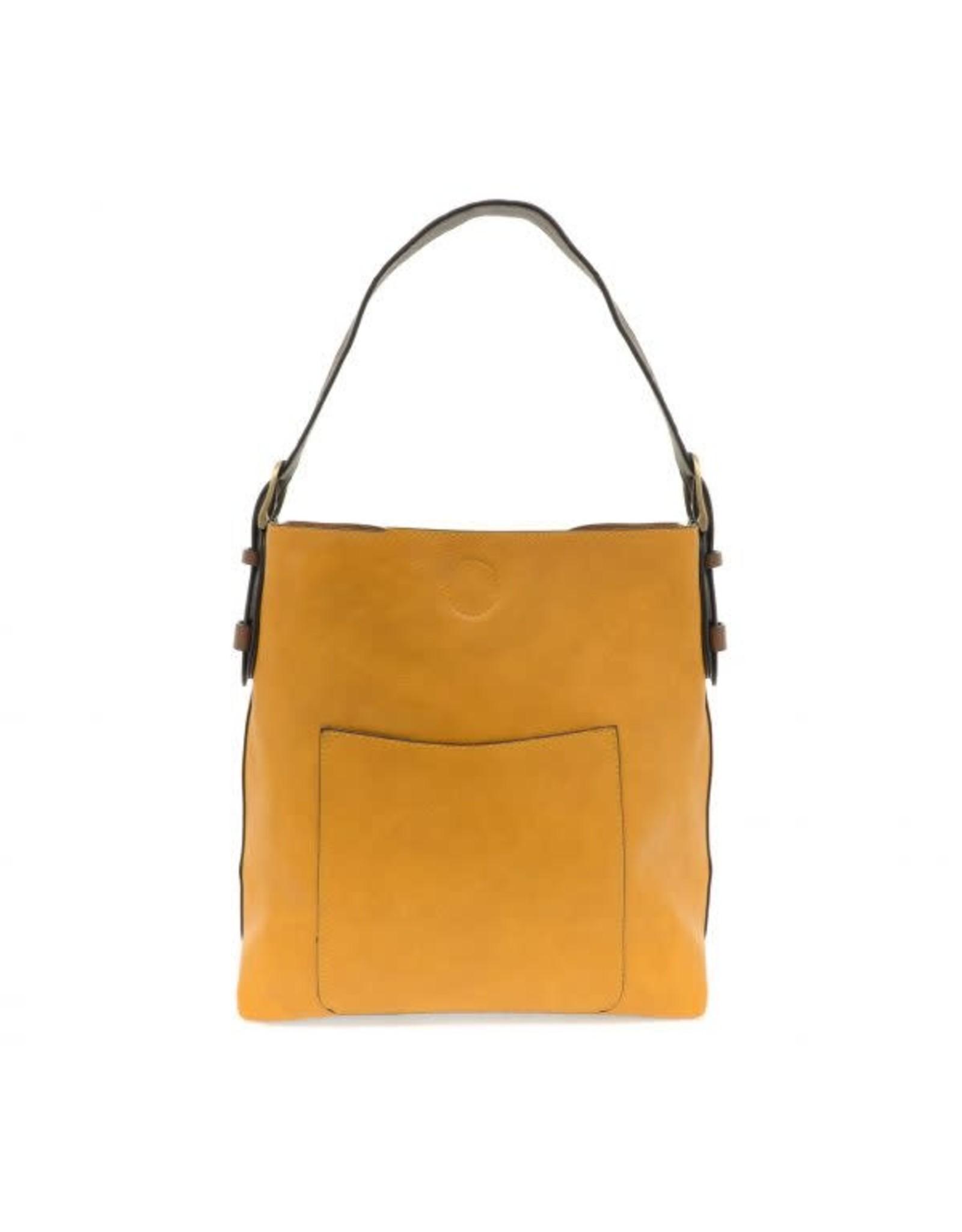 Hobo Style Handbag With Coffee Handle - Assorted