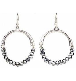 Tonya Silver Earrings
