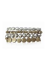 MB Jane Gold Silver Bracelet