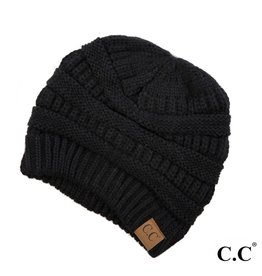 C.C. Beanie - Black