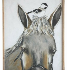 Horse and Bird Art