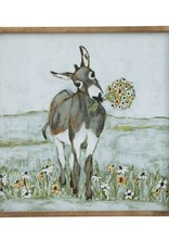 Canvas Donkey Wall Art