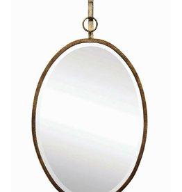 Mirror - Oval Wall Metal