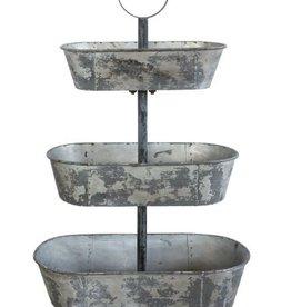 Bucket, Metal 3 tier