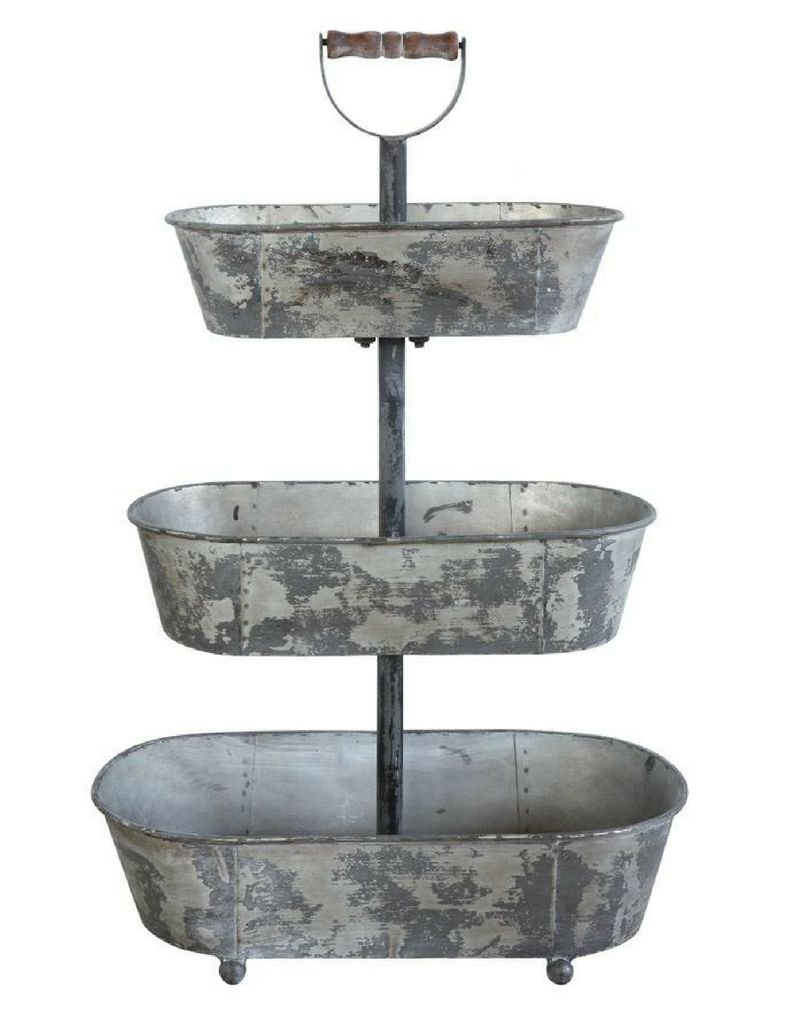 Bucket, Metal 3 tier