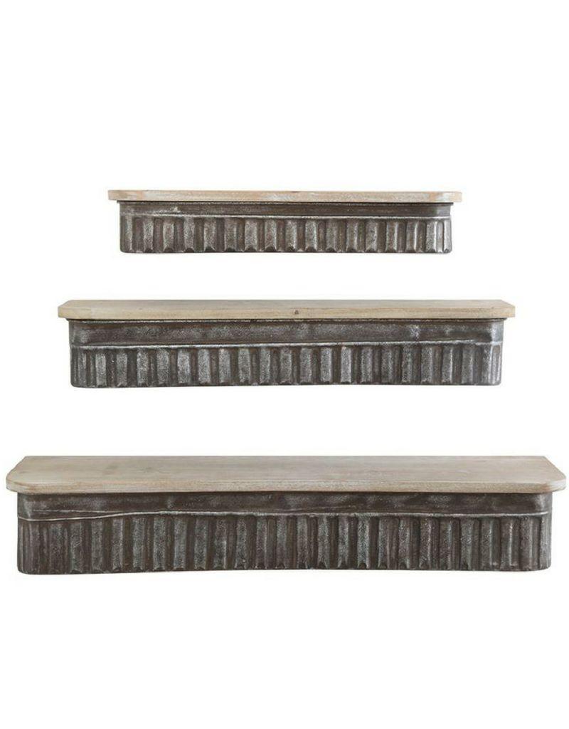 Shelf - Metal, Wood Large
