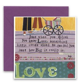 Baby Love Greeting Card