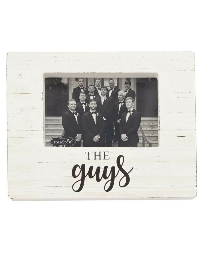The Guys Wooden Block Picture Frame