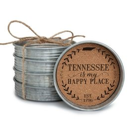 Coasters - Mason Jar Lid, TN