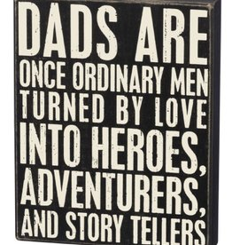 Box Sign - Dad Heroes