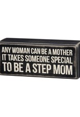 Box Sign - Step Mom