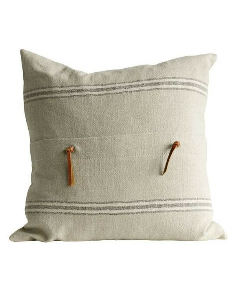 Pillow - Natural Square Cotton