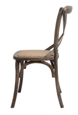 Chair - X Back Brown