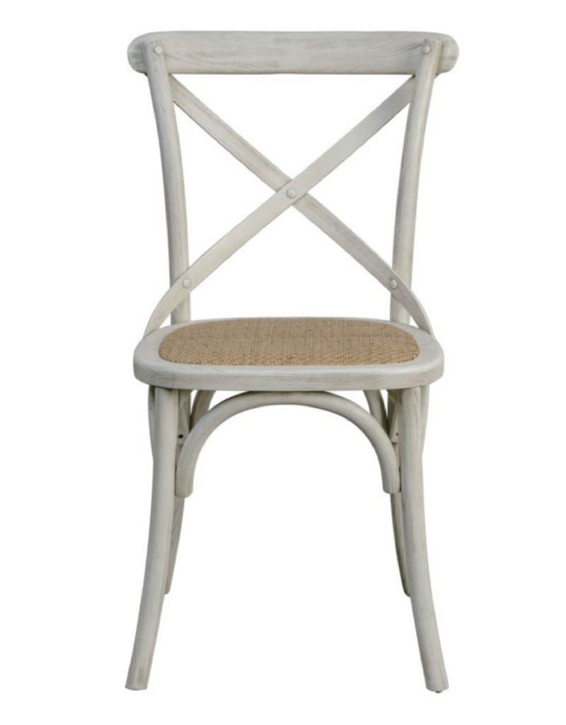 White X Back Chair