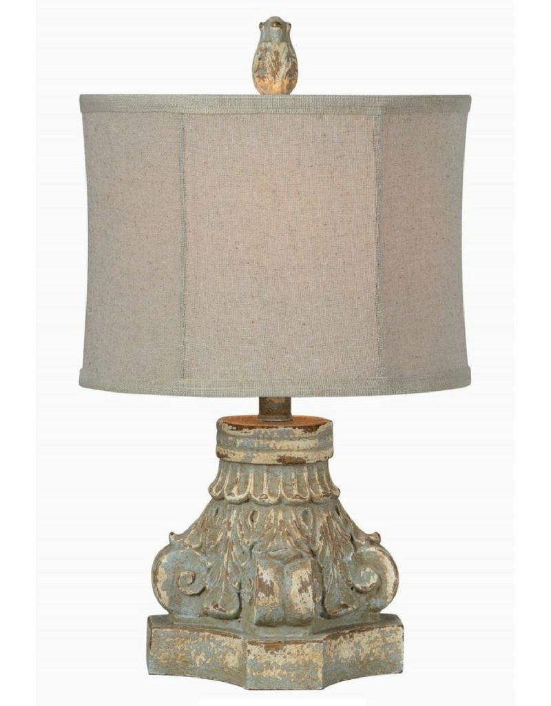 Corinthian Column Lamp