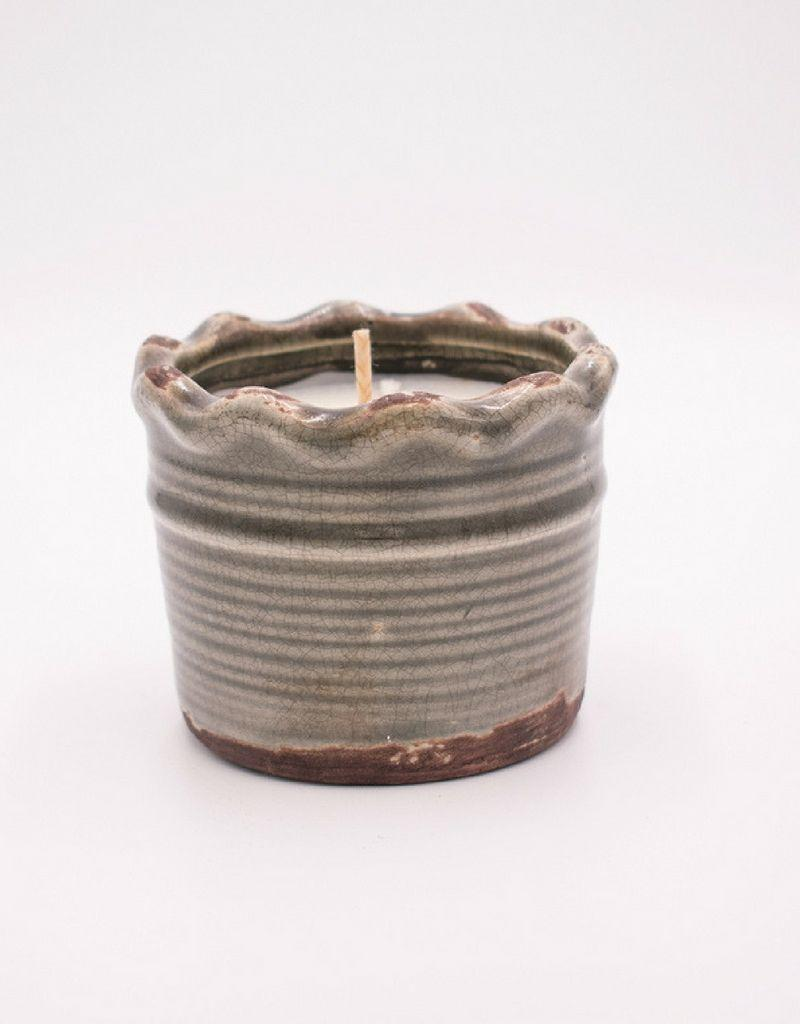 Swan Creek Candle Co - Ruffled Pottery Collection
