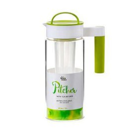 For Teas Sake 65oz Iced Tea Pitcher With Infuser