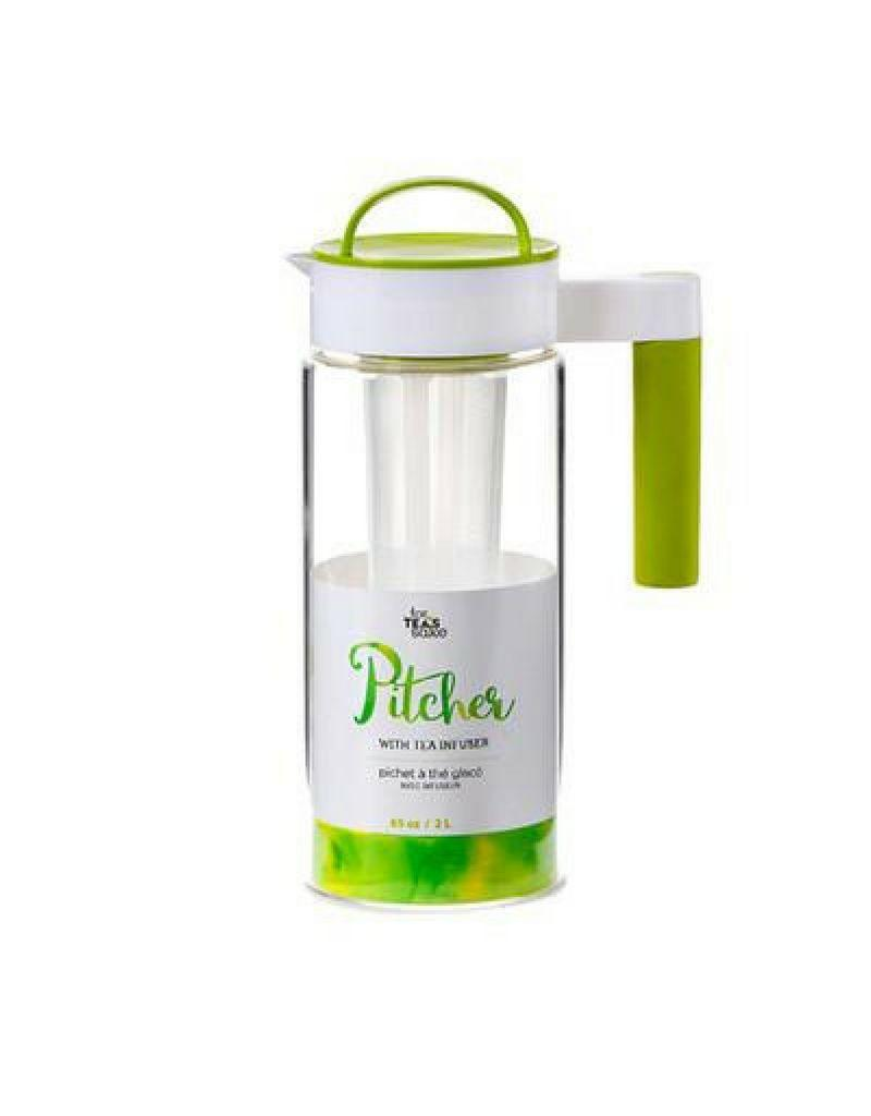 For Tea's Sake 65oz Iced Tea Pitcher With Infuser