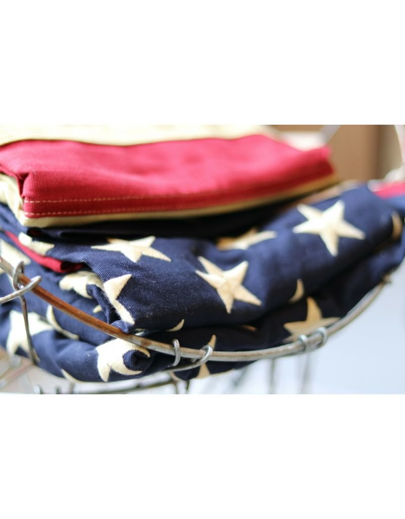 American Flag - Tea Stained