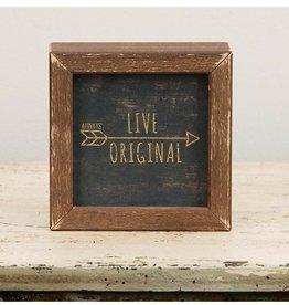 Glory Haus Live Original Framed Sign