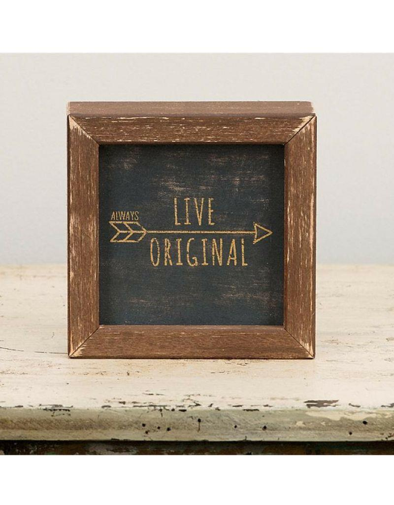 Glory Haus Live Original Framed Sign