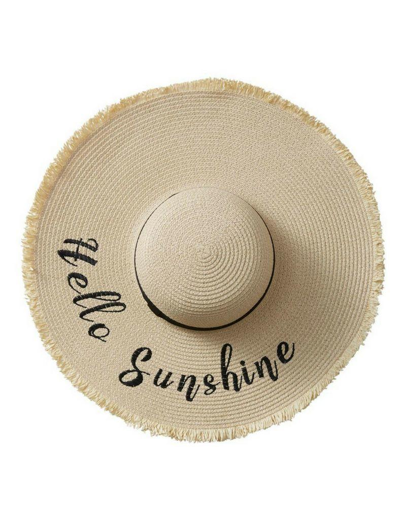 Hello Sunshine Beach Hat