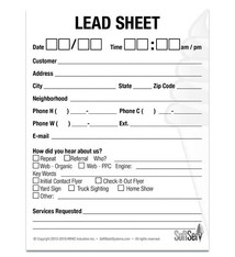 Lead Sheet - Set of 1000