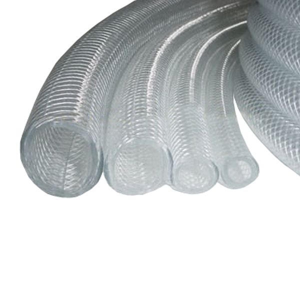 "3/8"" Clear Braid Hose per Foot"
