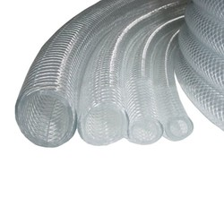 "1/2"" Clear Braid Hose per Foot"