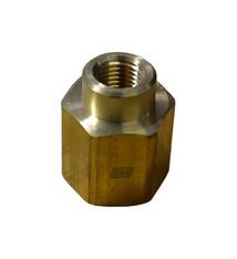 Brass Reducer 1/2F X 1/4F
