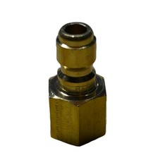 "1/4"" BRASS PLUG FEMALE"