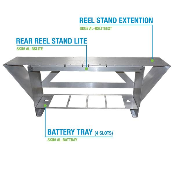 Reel Stand Extension for 2 18's