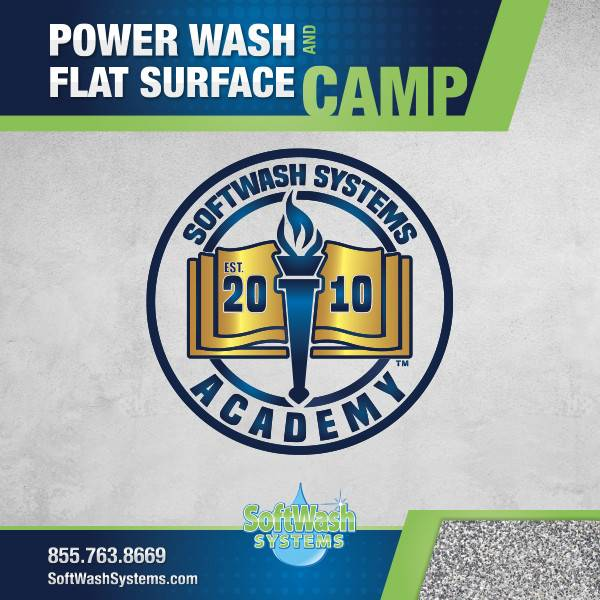 Power Wash and Flat Surface Camp