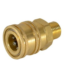 "1/4"" BRASS SOCKET MALE (Brass Quick Connect)"