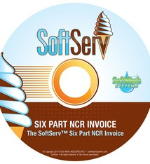 SoftWash Systems SoftServ™  Six Part NCR Invoice DVD