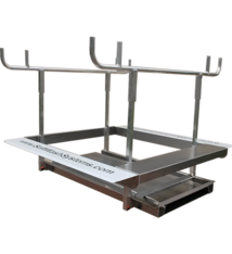 SoftWash Systems Full Aluminum Cradle Skid